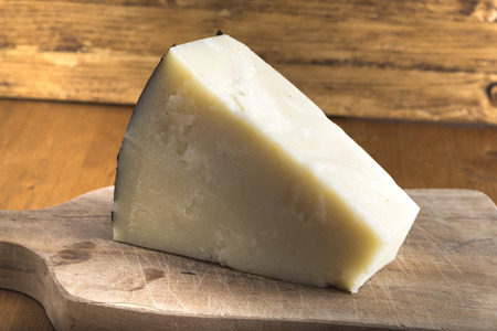 71427502 - pecorino romano cheese made from sheep's milk,